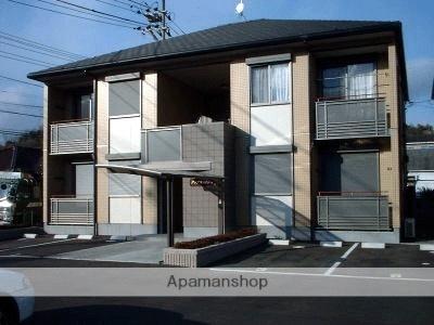 広島県府中市、上戸手駅徒歩20分の築14年 2階建の賃貸アパート