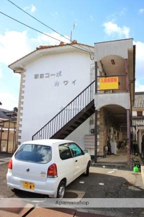 広島県福山市、備後赤坂駅徒歩60分の築31年 2階建の賃貸アパート