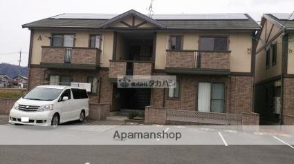 広島県府中市、新市駅徒歩18分の築10年 2階建の賃貸アパート