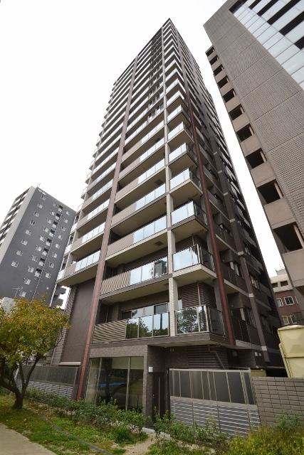 広島県広島市中区、稲荷町駅徒歩5分の築3年 19階建の賃貸マンション