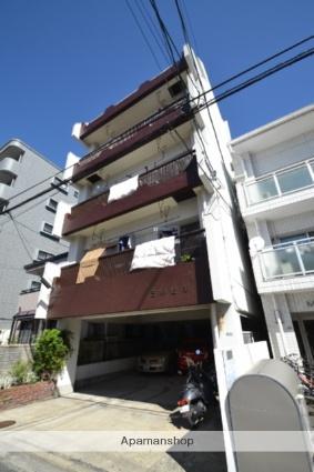 広島県広島市西区、横川駅徒歩5分の築42年 5階建の賃貸マンション