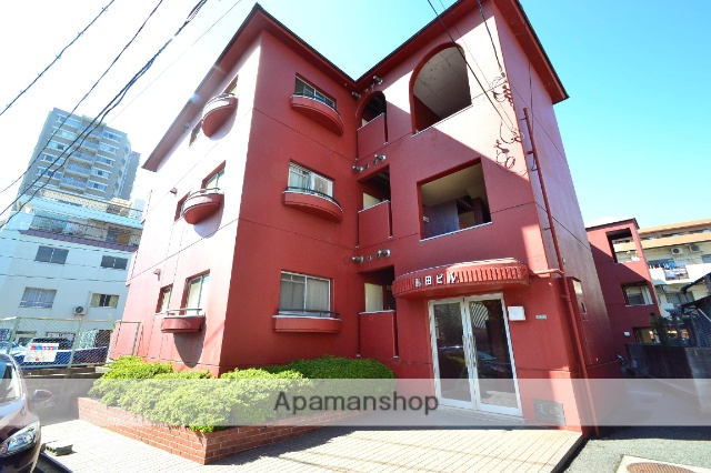 広島県広島市中区、新白島駅徒歩2分の築32年 3階建の賃貸マンション