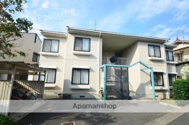 広島県広島市安佐南区、伴駅徒歩20分の築21年 2階建の賃貸アパート