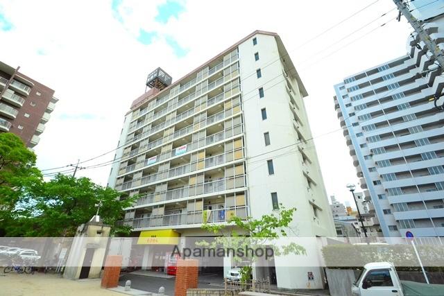 広島県広島市中区、小網町駅徒歩9分の築36年 9階建の賃貸マンション