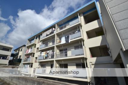 広島県広島市西区、高須駅徒歩16分の築45年 4階建の賃貸マンション