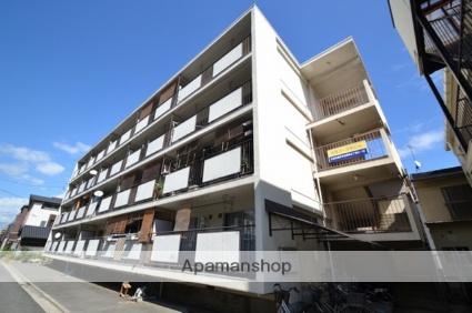 広島県広島市南区、元宇品口駅徒歩5分の築45年 4階建の賃貸マンション