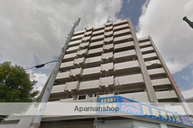 広島県広島市中区、御幸橋駅徒歩1分の築36年 9階建の賃貸マンション
