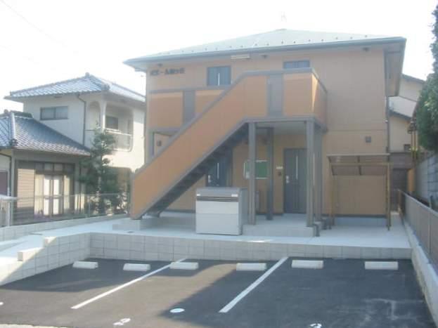 広島県広島市安佐北区の築10年 2階建の賃貸アパート