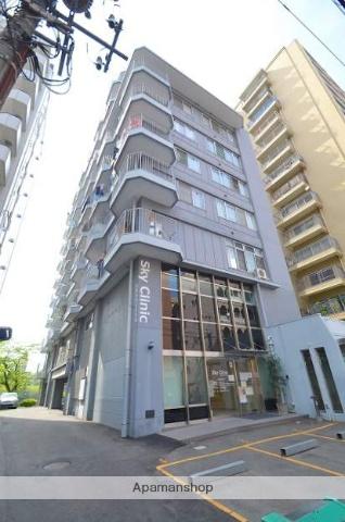 広島県広島市南区、縮景園前駅徒歩11分の築40年 10階建の賃貸マンション