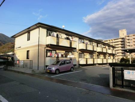 広島県広島市安佐北区、中深川駅徒歩2分の築18年 2階建の賃貸アパート