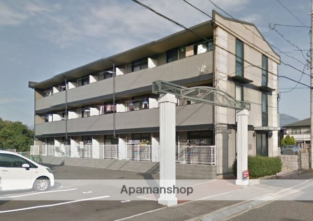広島県広島市安佐北区の築20年 3階建の賃貸アパート