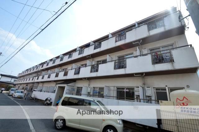 広島県広島市安佐北区、中島駅徒歩8分の築32年 3階建の賃貸マンション
