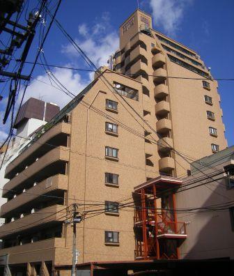 広島県広島市中区、稲荷町駅徒歩8分の築29年 14階建の賃貸マンション