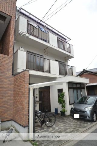 広島県広島市東区、新白島駅徒歩13分の築28年 3階建の賃貸マンション