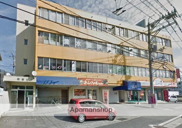 広島県広島市安佐南区、安東駅徒歩10分の築42年 4階建の賃貸マンション