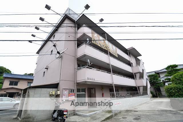 広島県広島市東区、牛田駅徒歩17分の築33年 4階建の賃貸マンション
