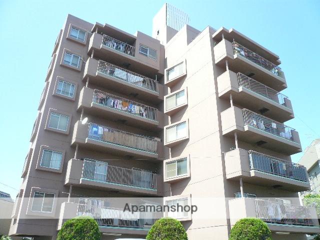 広島県広島市中区、御幸橋駅徒歩3分の築38年 7階建の賃貸マンション