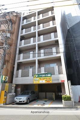 広島県広島市中区、稲荷町駅徒歩4分の築17年 8階建の賃貸マンション