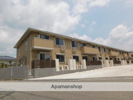 広島県広島市安佐北区、可部駅徒歩20分の新築 2階建の賃貸アパート