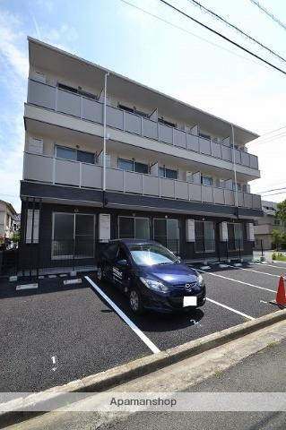 広島県広島市南区、広島港(宇品)駅徒歩11分の築1年 3階建の賃貸アパート