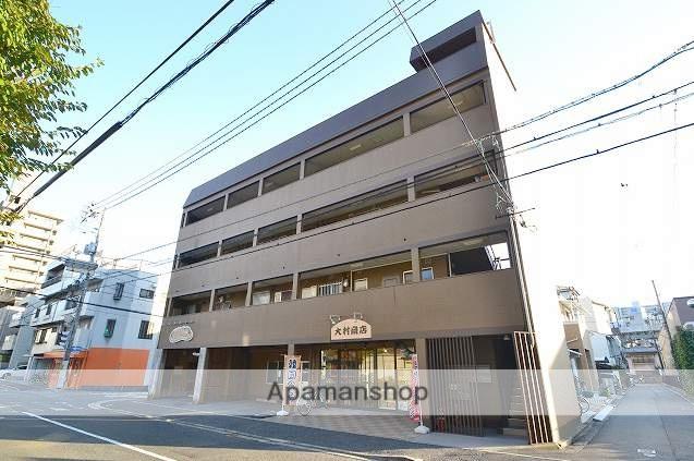 広島県広島市中区、新白島駅徒歩5分の築43年 4階建の賃貸マンション
