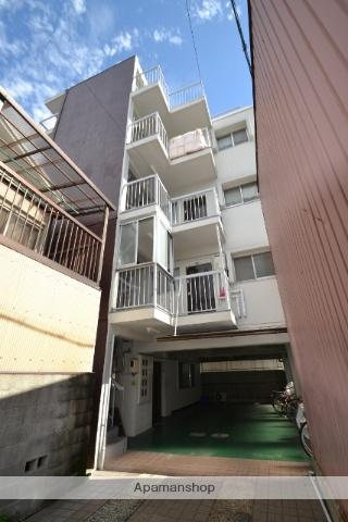 広島県広島市西区、横川駅徒歩16分の築42年 4階建の賃貸マンション