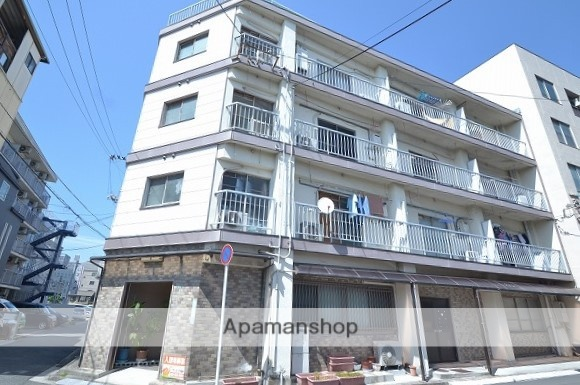 広島県広島市中区、御幸橋駅徒歩5分の築49年 4階建の賃貸マンション