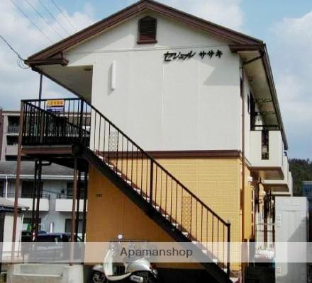 広島県広島市安佐北区の築19年 2階建の賃貸アパート