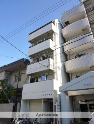 広島県広島市中区、比治山下駅徒歩11分の築34年 5階建の賃貸マンション