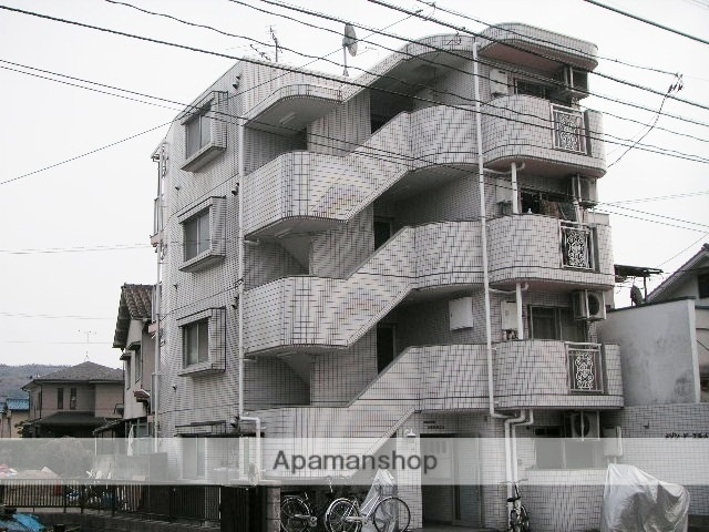 広島県広島市安佐南区、安芸長束駅徒歩5分の築27年 4階建の賃貸マンション