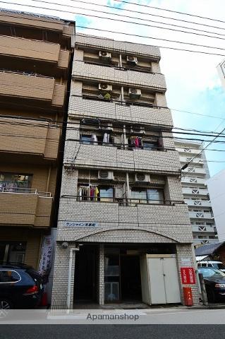 広島県広島市中区、土橋駅徒歩7分の築30年 5階建の賃貸マンション