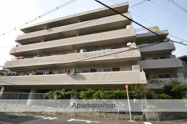 広島県広島市中区、舟入南町駅徒歩14分の築41年 5階建の賃貸マンション