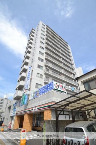 広島県広島市中区、新白島駅徒歩2分の築24年 14階建の賃貸マンション