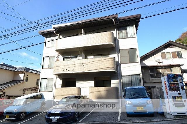 広島県広島市南区、県病院前駅徒歩29分の築29年 3階建の賃貸マンション