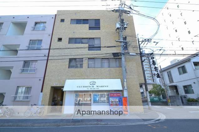 広島県広島市南区、元宇品口駅徒歩5分の築34年 4階建の賃貸マンション