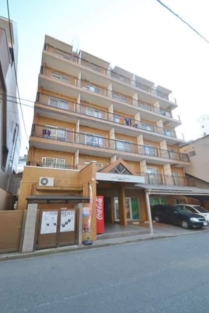 広島県広島市中区、本川町駅徒歩4分の築29年 7階建の賃貸マンション