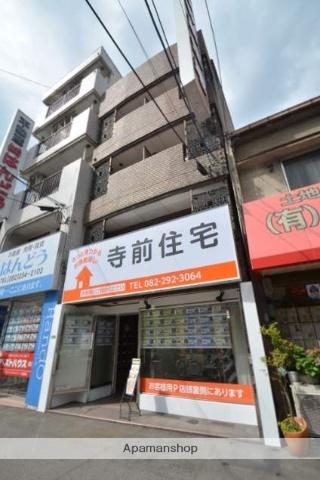 広島県広島市西区、横川駅徒歩5分の築30年 5階建の賃貸マンション
