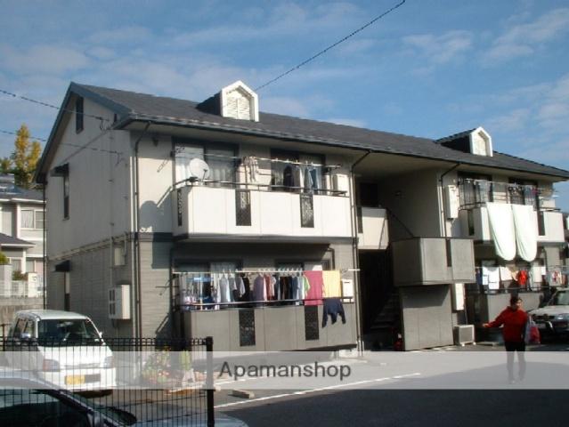 広島県広島市安佐南区、長楽寺駅徒歩14分の築21年 2階建の賃貸アパート