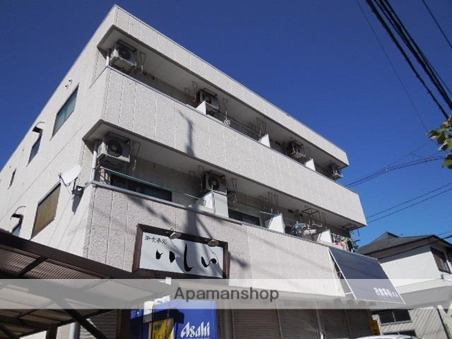 広島県広島市西区、草津駅徒歩11分の築32年 3階建の賃貸マンション