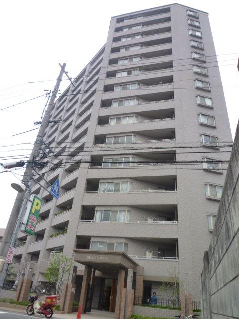 広島県広島市南区、宇品二丁目駅徒歩6分の築13年 15階建の賃貸マンション