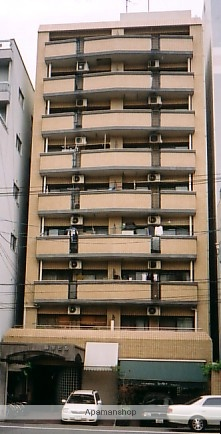 広島県広島市中区、稲荷町駅徒歩6分の築30年 9階建の賃貸マンション