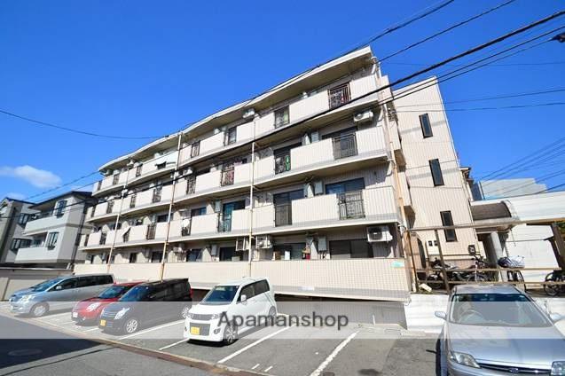 広島県広島市西区、新白島駅徒歩17分の築26年 4階建の賃貸マンション