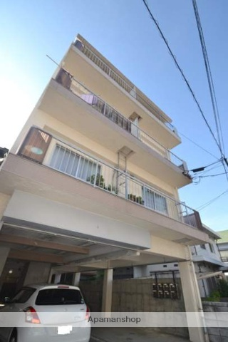広島県広島市西区、横川駅徒歩14分の築41年 4階建の賃貸マンション