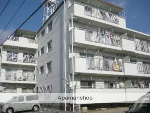 広島県広島市西区、東高須駅徒歩6分の築32年 4階建の賃貸マンション