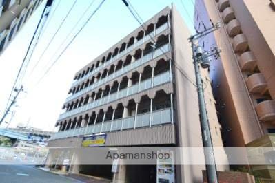 広島県広島市南区、縮景園前駅徒歩11分の築38年 5階建の賃貸マンション