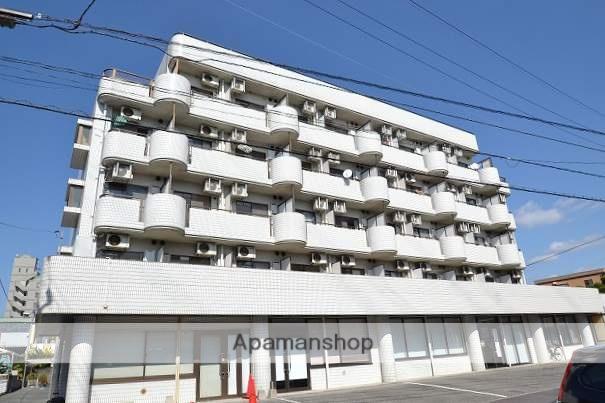 広島県広島市安佐南区、下祇園駅徒歩10分の築28年 5階建の賃貸マンション