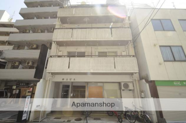 広島県広島市西区、小網町駅徒歩6分の築41年 5階建の賃貸マンション
