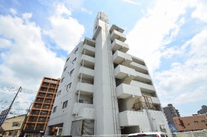 広島県広島市安佐南区、下祇園駅徒歩6分の築27年 6階建の賃貸マンション