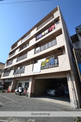 広島県広島市南区、南区役所前駅徒歩19分の築44年 5階建の賃貸マンション