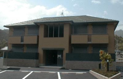 広島県廿日市市、前空駅徒歩18分の築16年 2階建の賃貸アパート